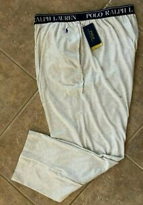 Polo Ralph Lauren Supreme Comfort Lounge Pants Mens 4XT 4XLT Andover Heather NWT