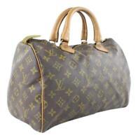 "Louis Vuitton Monogram Speedy 30 ""French Co Edition"" 4LJ1020"