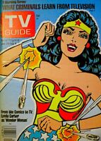 TV Guide 1977 Wonder Woman Lynda Carter Charlie's Angels V25N5 #1244 EX COA