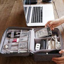 Travel Portable Earphone Cable USB Gadget Organizer Storage Bag Case Pouch