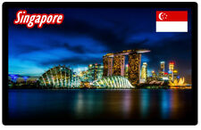 SINGAPORE - SOUVENIR NOVELTY FRIDGE MAGNET - SIGHTS / FLAG / GIFTS / BRAND NEW