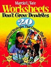 Worksheets Don′t Grow Dendrites: 20 Instructional Strategies That Engage