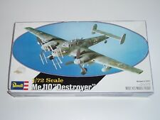 "Vintage Revell 1:72 Me 110 ""Destroyer"" Model Airplane Kit! - NOS - Made in USA"