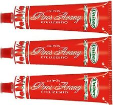 Red Gold Paprika Peppers Paste HOT SPICY Cream Piros Arany Univer 3 x 160g