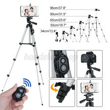 Aluminum Camera Camcorder Video Mount Tripod Stand+Remote for Camera Cell Phone+