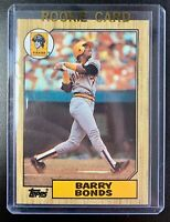 1987 Topps #320 BARRY BONDS Rookie RC  Baseball Card NM-MT Pittsburgh Pirates
