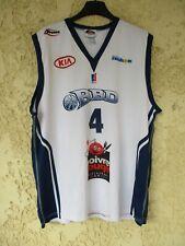 Maillot basket BBD BOULAZAC DORDOGNE porté GAILLOU n°4 LNB Proact shirt XL