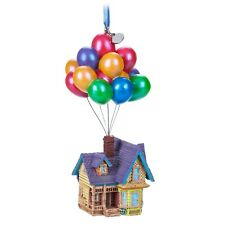 Disney Store 2018 Boxed Pixar Up House Balloons Sketchbook Ornament New with Tag