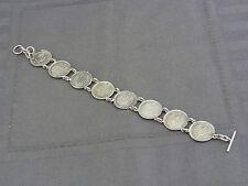 schönes altes Armband mit Münzen / Medaillen