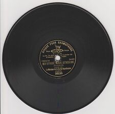 RARE 7 inches G&T 78 rpm RECORD Paris LA GARDE REPUBLICAINE Mon Autriche...