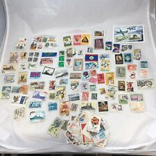 Vintage Stamp Collection From Around The World
