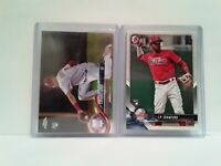 J P Crawford ROOKIES 2018 Topps Chrome + 2018 Bowman