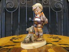 Hummel Goebel Not For You Boy Dog 317 TMK3 Taller Figurine Arthur Moeller (1955)