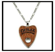 Pendant Ouija Board Planchette Necklace silver Chain Ouija Board pendant