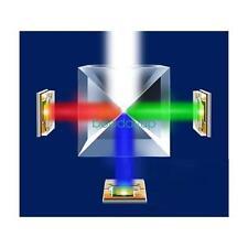 Optical Glass Prism Physics Teaching Light Spectrum Educational Model GX01 B