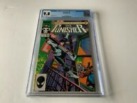 PUNISHER 1 CGC 9.8 WHITE PAGES MIKE BARON KLAUS JANSON MARVEL COMICS 1987