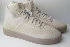 Adidas ORIGINALS Splendid Woven Lux Cream Beige Mens Trainers UK 8.5 RARE