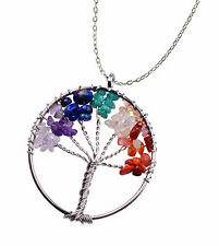 Gifts For Teen Necklace Pendant Girl Jewelry Handmade Handcrafted Gemstone Tree