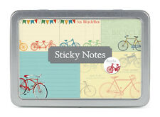 Cavallini & Co Bicycle Themed Sticky Notes, Post It Notes, Bikes, To Do, Paper