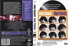 High Fidelity [Dvd 2000] - Region 4 Pal John Cusack