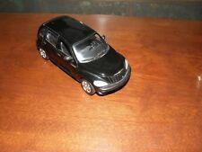 3193) Chrysler Black 2001 PT Cruiser Die Cast Car 1/24 Scale #73253 68071