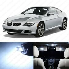 10 x White LED Interior Light Package For 2005 -2010 BMW 6 Series M6 E63 E64