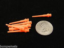 500 Darts Orange Soft Tips 2ba Size,Tufflex Standard, Plastic Extremely Durable