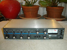 Broadcast Electronics 4R50, Mic Line, 4 Channel Mixer, Preamp, Vintage Unit