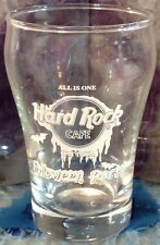 "Hard Rock Cafe PATTAYA 2001 HALLOWEEN PARTY 3.25"" SHOT GLASS Mini ""ALL IS ONE"""
