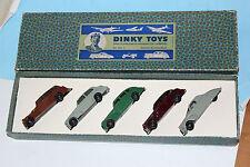 Dinky TOYS POSTE guerre privée auto mobiles ensemble cadeau n ° 2 très rares question de l'exportation!!