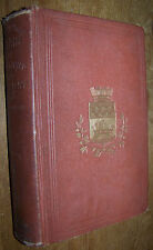 1869 ANTIQUE PARIS FRANCE HISTORY BOOK SUNLIGHT GASLIGHT CRIME POLICE VICE