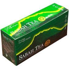 Sabah Tea Borneo Rainforest 100% Pesticide Free 25 Bags 50g