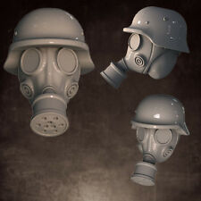 Conversion Bits: Head Swaps: Gas Mask, Rolled Helmet (5)