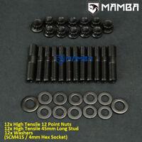 SCM415 Exhaust Manifold Stud Mitsubishi EVO 1~9 4G63T 1G 2G Eclipse Talon DSM