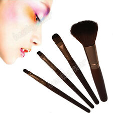 4Pcs Makeup Brushes Set Powder Foundation Eye shadow Contour Buffing Brush Kit