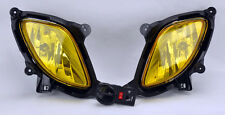 Euro JDM Yellow Fog Lights w/ Bulbs FITS Hyundai Genesis Coupe 10-12 RH LH PAIR