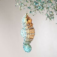 Sea Horse Glass Ornament