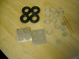 """1/24th scale photo etched wire wheel kit K&R Replicas for cars with 15"""" wheels"""