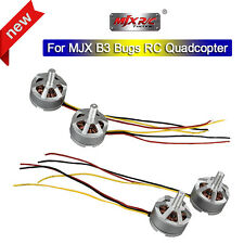2 Pair CW+CCW 1806 1800KV Brushless Motor Accessory Set For MJX B3 Bugs 3 Drone
