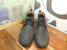 Cole Haan Black Leather Chukka Ankle Boots Men's 13M #C12819 Made in India