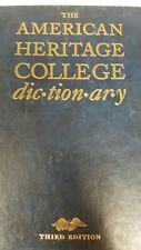 The American Heritage College Dictionary 3rd Edition