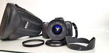 Nikon F601 35mm Film SLR Camera +Sigma Zoom 18-35mm Aspherical f4.5D - Ø82 Lens