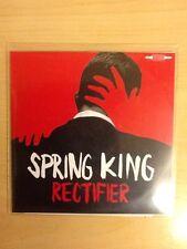 SPRING KING-CD PROMO-RECTIFIER-ONE TRACK + PRESS STICKER-RARE ISSUE-M/UNP
