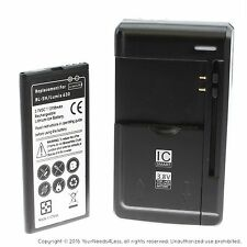 Replacement Battery for Nokia Lumina 630 635 636 638 BL-5H plus charger