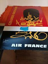 ancienne affiche - air france - grand bretagne