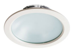 DOWNLIGHT LED ROND BLANC 10W 3000°K 120° IP20/IP44 750LM