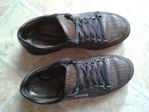 Men's Mephisto Wanda Dark Brown Leather Walking Boots : EURO (UK) 8.5 / US 9