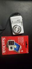 Kodak EasyShare C1450 14.0MP Digital Camera White 5X Zoom with 16GB SD CARD