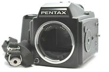 [EXC+++++] PENTAX 645 Medium Format Camera w/ 120 Film Back Strap From JAPAN