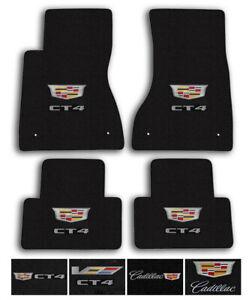 Lloyd Mats For 20-Up Cadillac CT4 Velourtex Carpet Floor Mats - Logo & Color